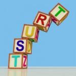 TRUST blocks falling